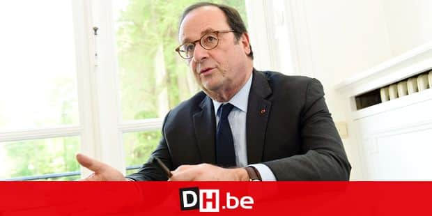 Francois Hollande ancien president republique France PS