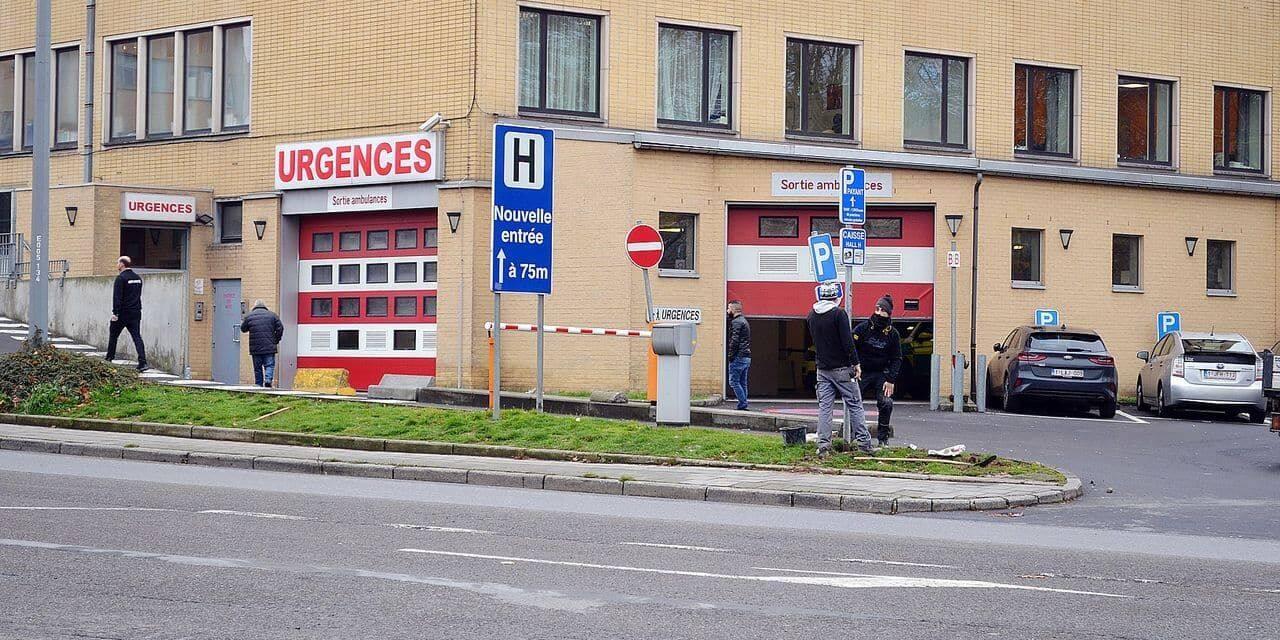 Un zen truck a disposition du personnel soignant dans les différents sites du Grand Hôpital de Charleroi