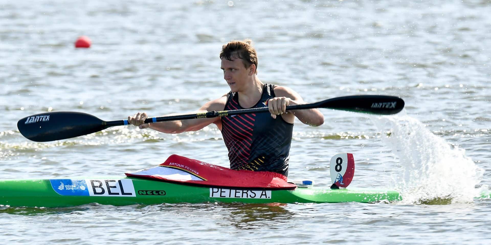 Canoë-Kayak : Artuur Peters signe un exploit à Szeged !