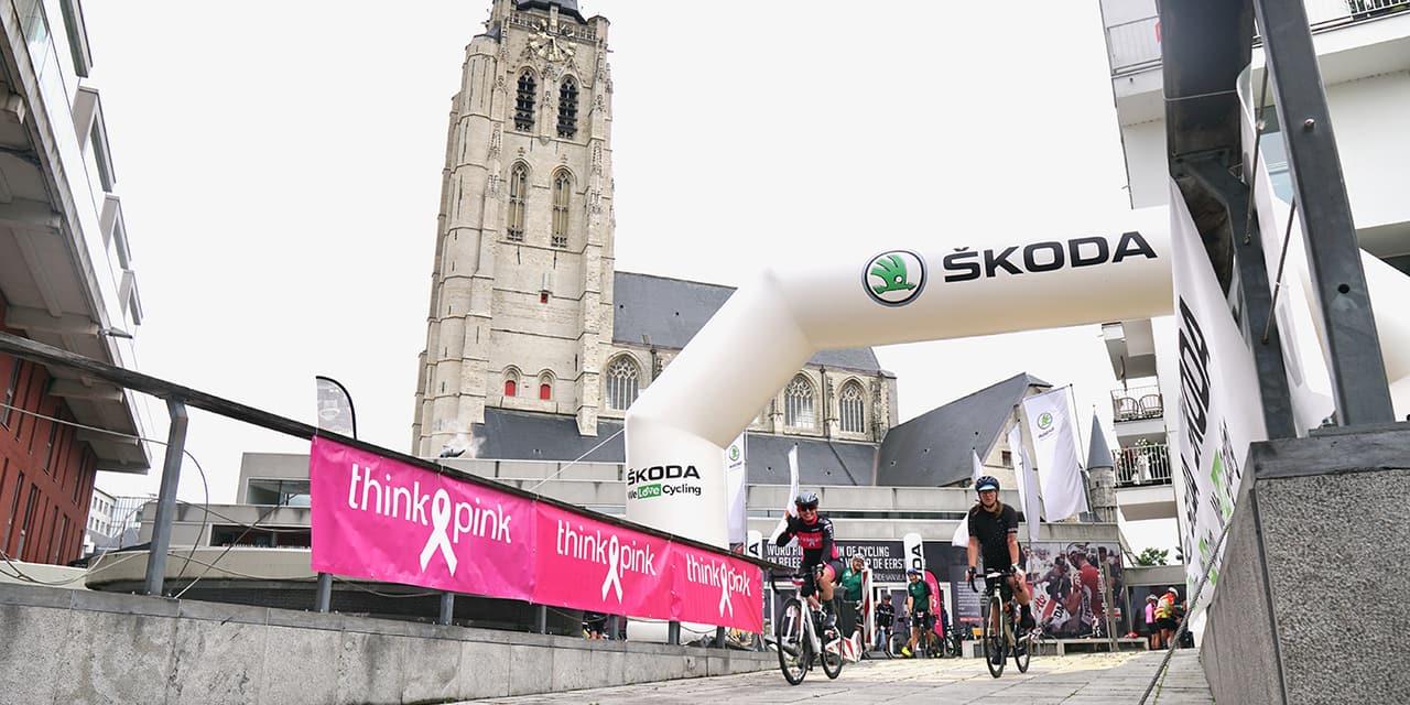 ŠKODA Bike for Think Pink : Pédalons ensemble contre le cancer du sein