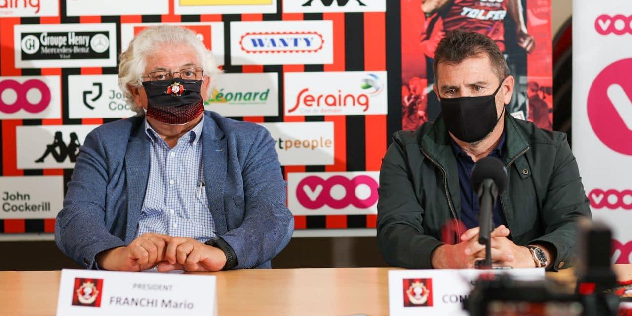 Officiel: Jordi Condom est le nouveau T1 de Seraing en D1A