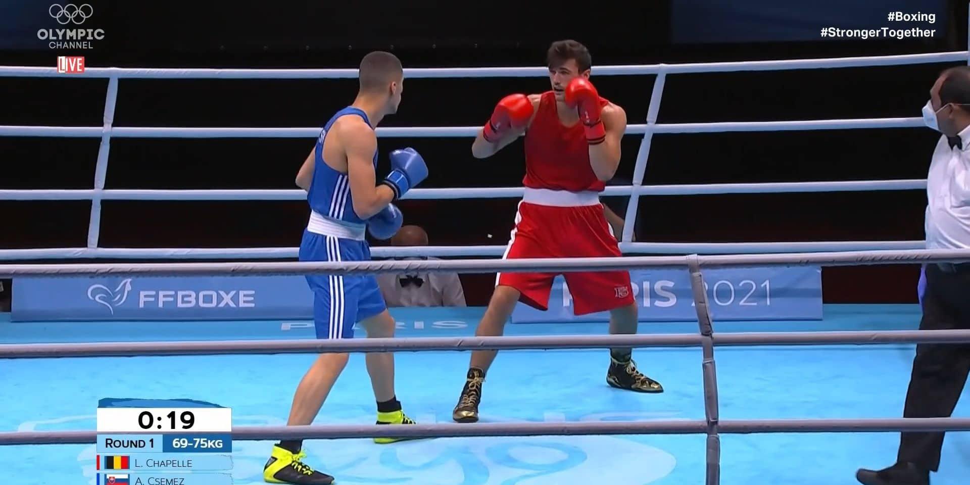 Boxe : Lancelot Proton de la Chapelle battu mais en route pour les Jeux olympiques