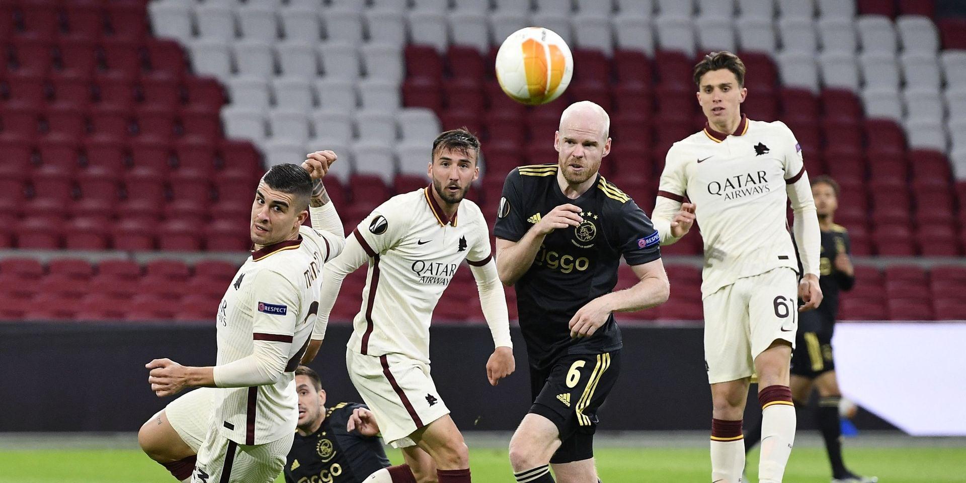 L'AS Rome élimine l'Ajax, qui peut nourrir des regrets