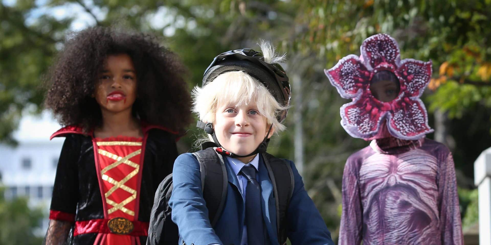 Le déguisement à la mode pour Halloween ? Le terrifiant Boris Johnson et son Brexit !