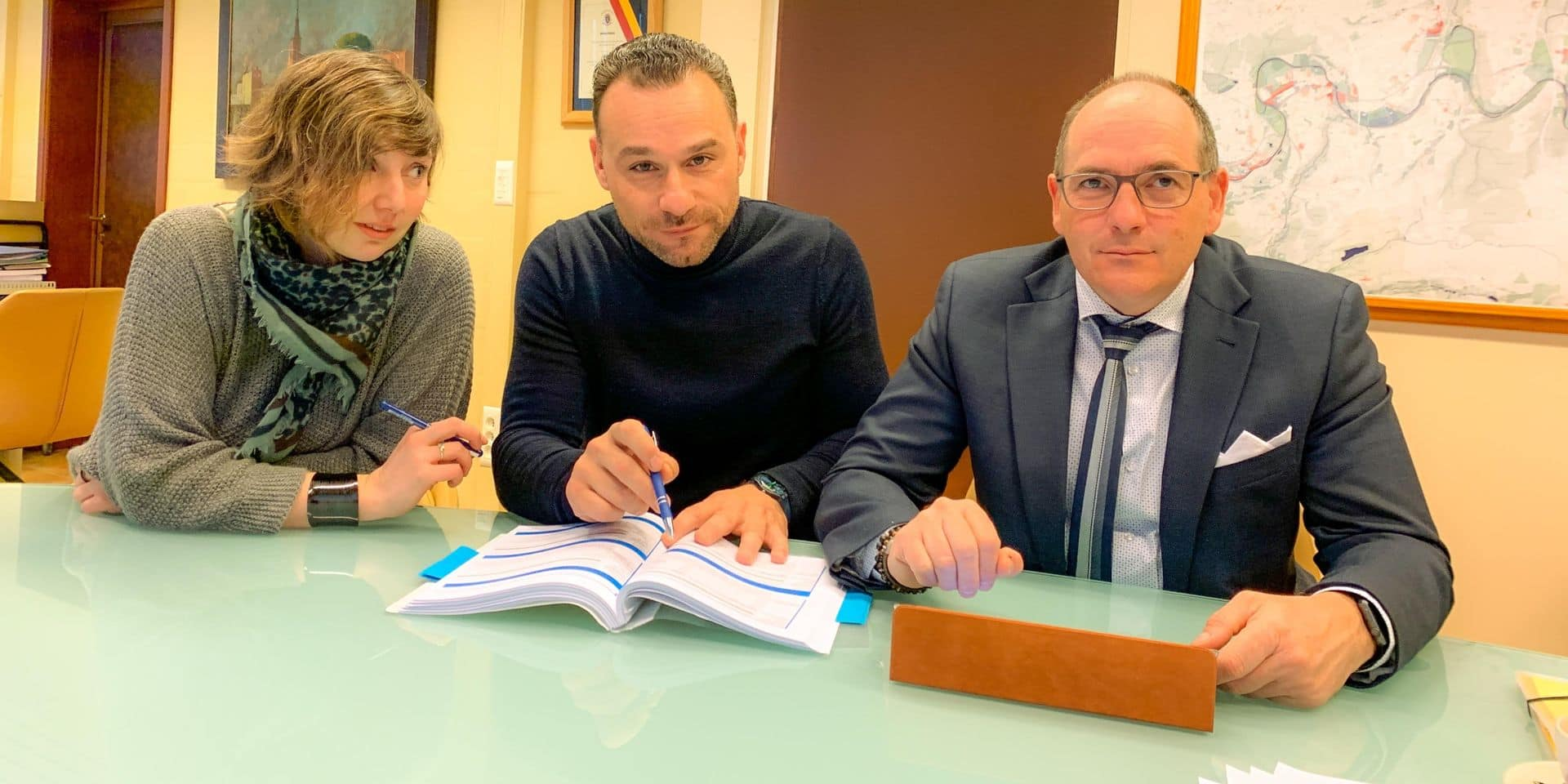 Amélie Quevrin, Jean-Charles Luperto et Xavier Gobbo ont participé à bon nombre de réunions pour mettre ce PST sur pied.