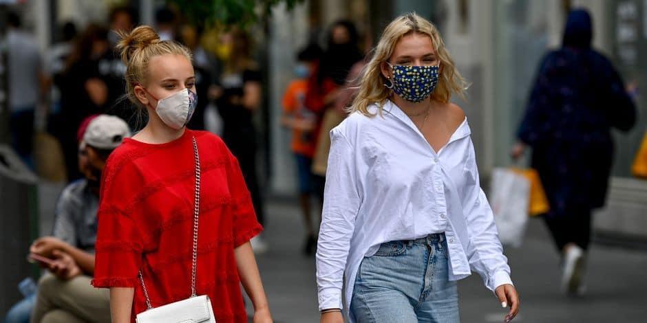 Le masque obligatoire tous les jours dans la Corbeille et sur les berges de la Meuse et la Sambre