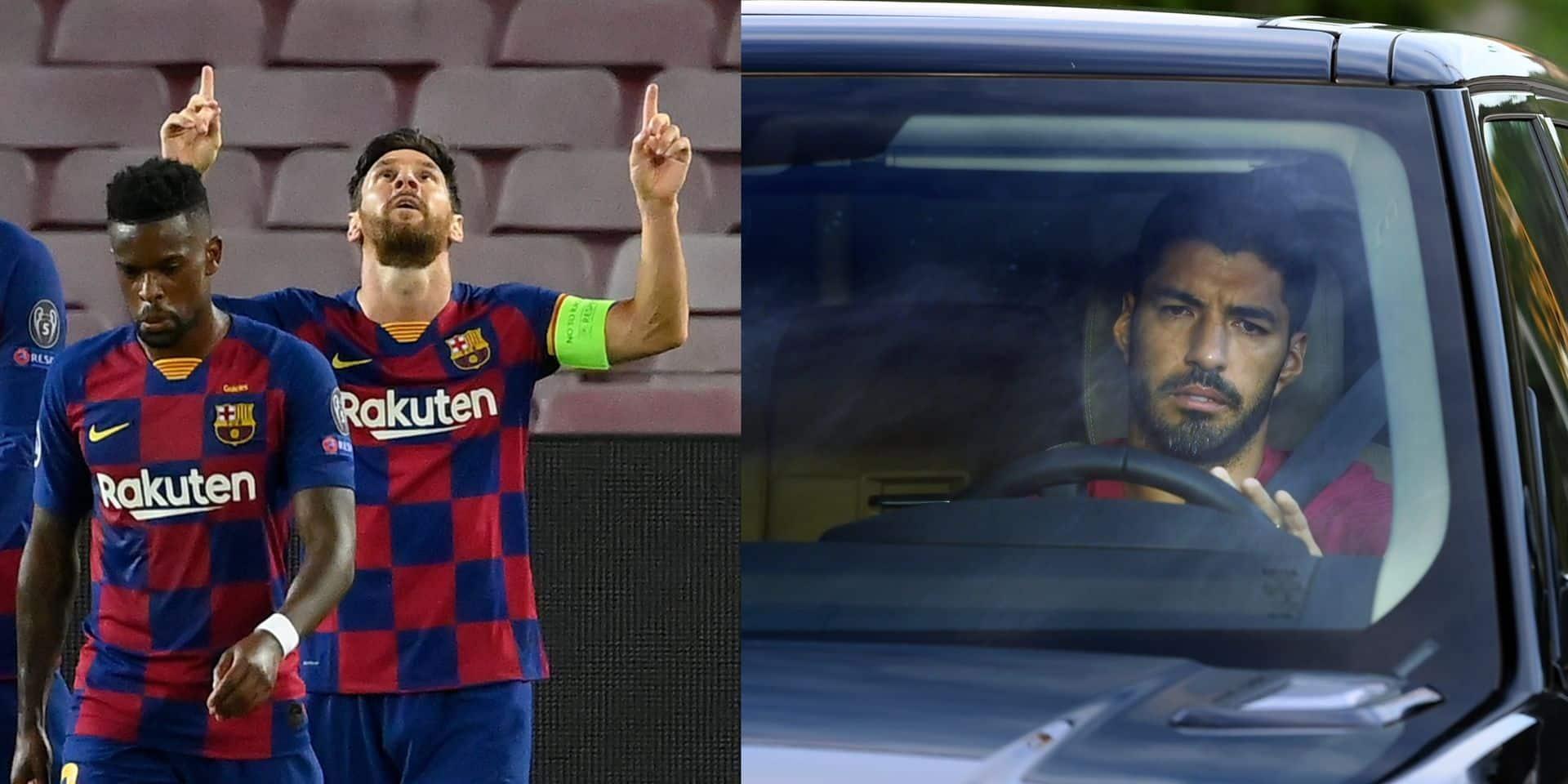 """Messi rend hommage à Suarez... et tacle Bartomeu: """"Plus rien ne me surprend"""""""
