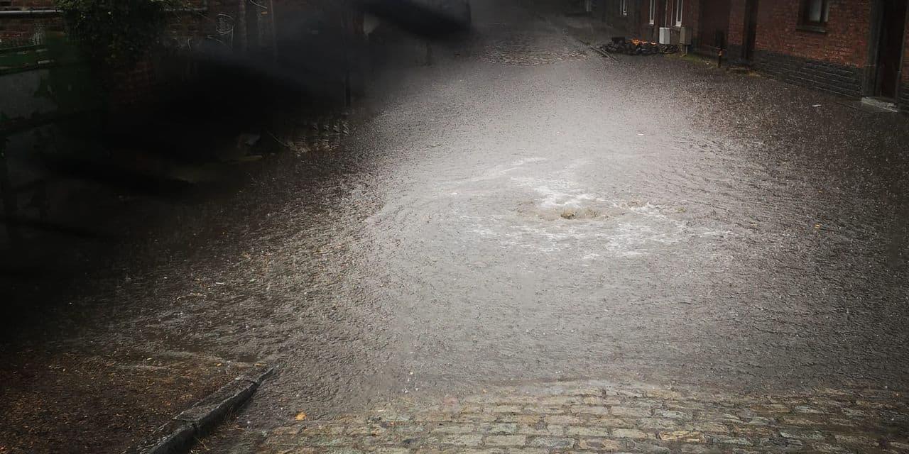 La pluie fait des dégâts dans les Hauts-Pays et le Borinage : plusieurs routes inondées