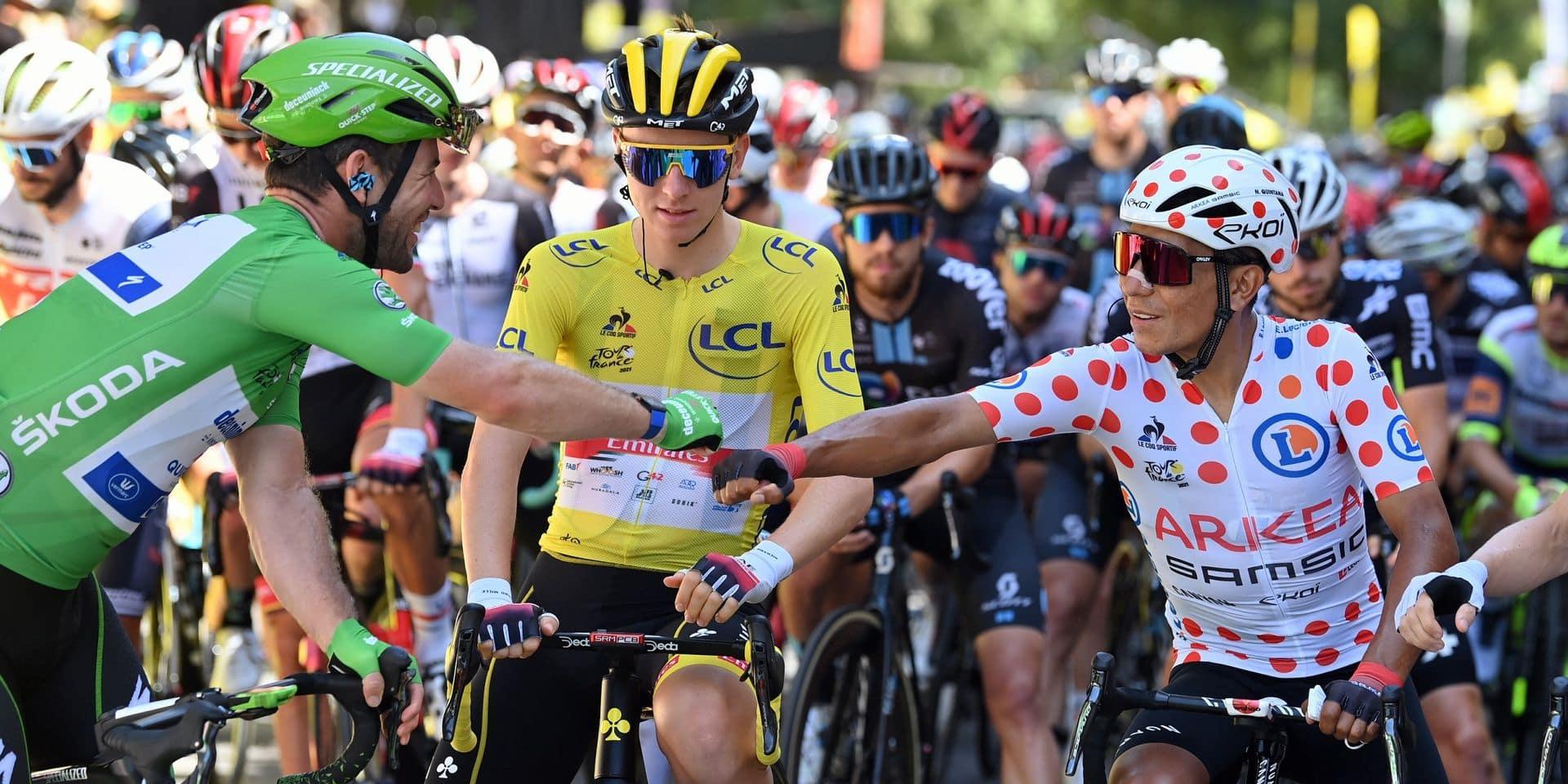 Tour de France: la règle des trois derniers kilomètres sera adaptée lors de la 13e étape vendredi
