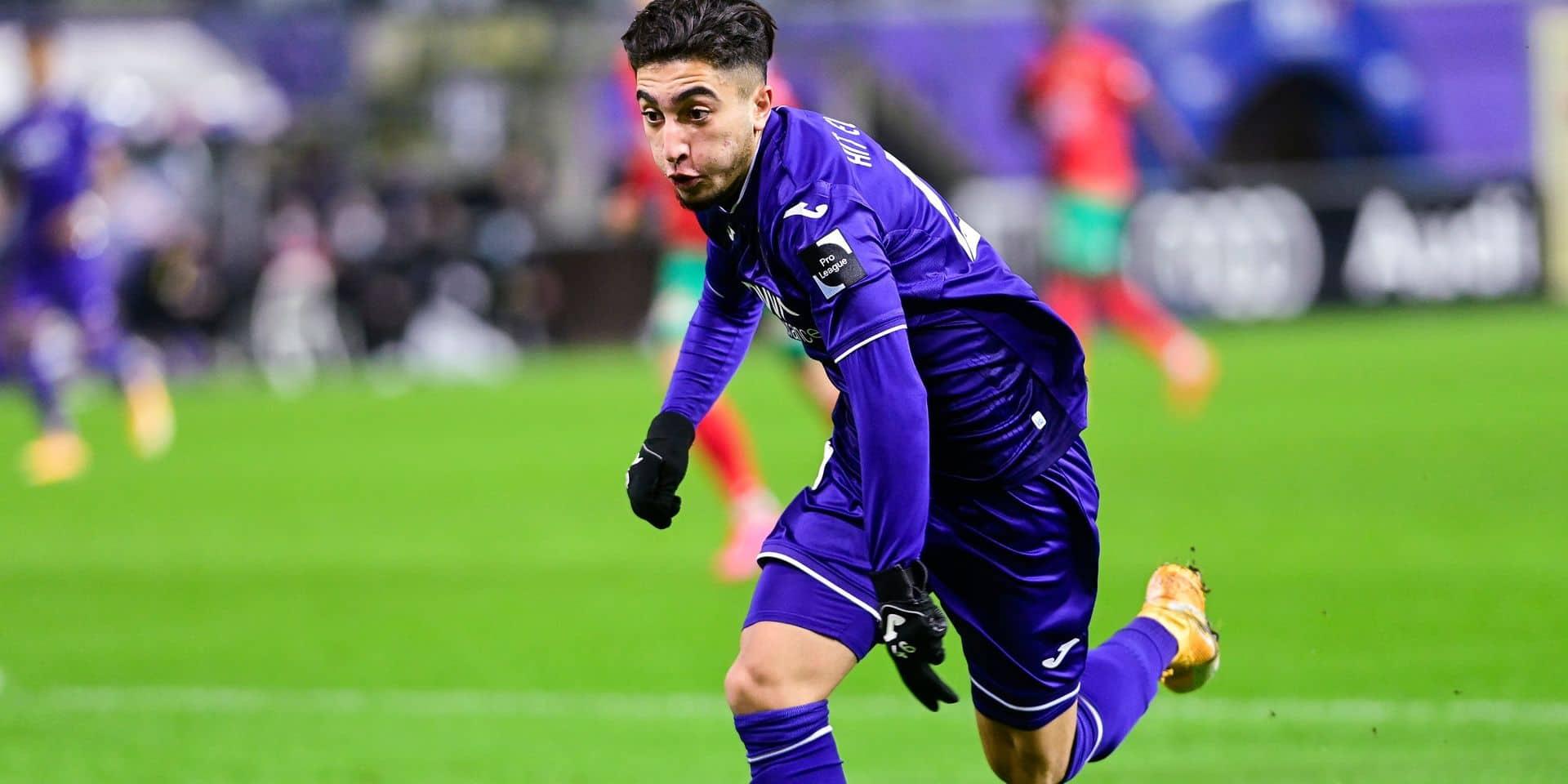 """Anouar Ait El Hadj veut faire son trou à Anderlecht: """"Je m'inspire de Messi et Boussoufa"""""""