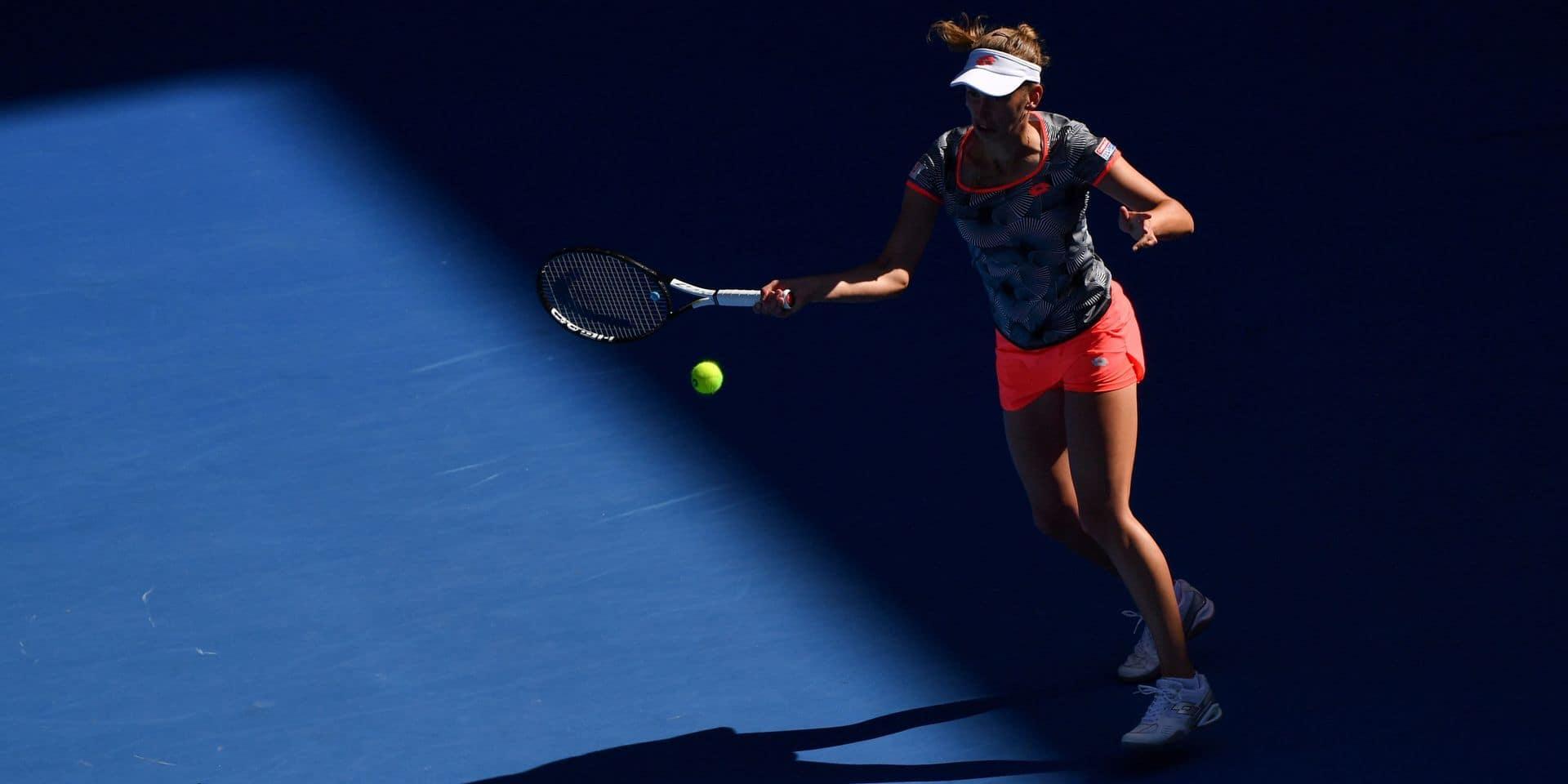Open d'Australie: fin de parcours pour Elise Mertens