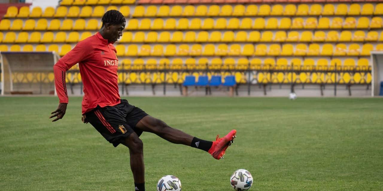Amadou Onana, grand espoir du football belge, en route vers le LOSC