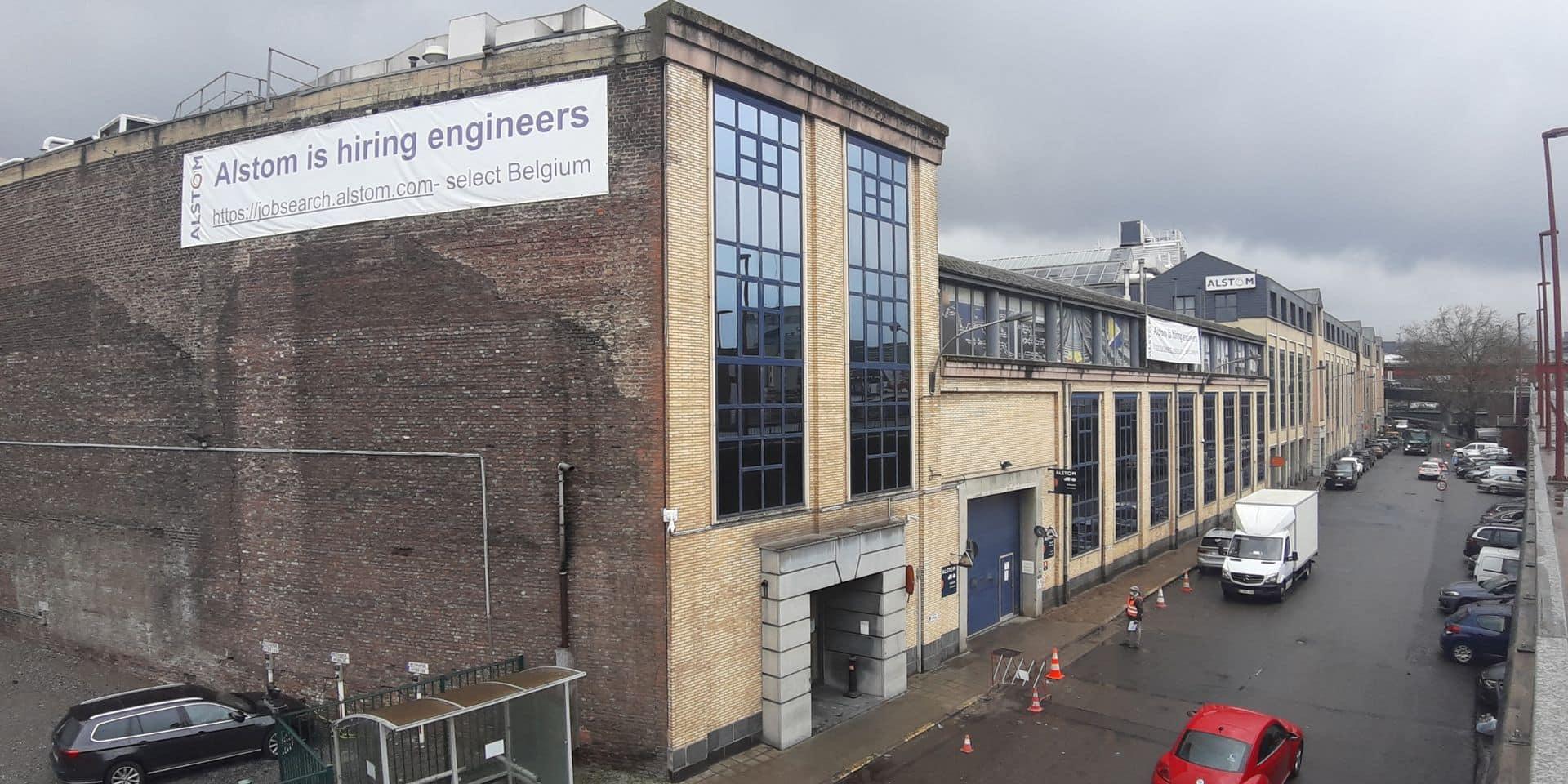 Après un an de télétravail, Alstom Charleroi poursuit son développement