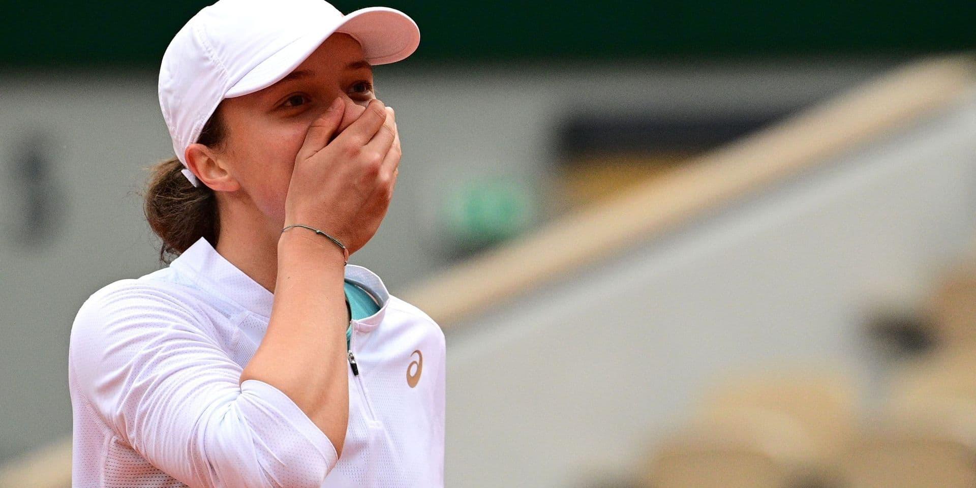 A 19 ans, Iga Swiatek (WTA 54) remporte Roland-Garros, battant Sofia Kenin (WTA 6): 6-4, 6-1