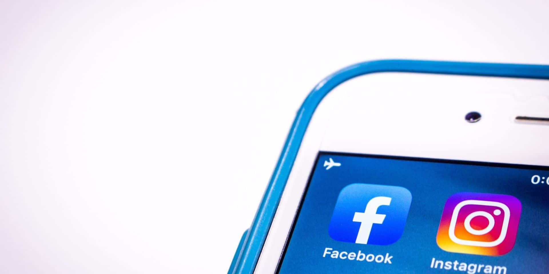 Même supprimées, les applications Facebook et Instagram conserveraient nos données personnelles durant des mois