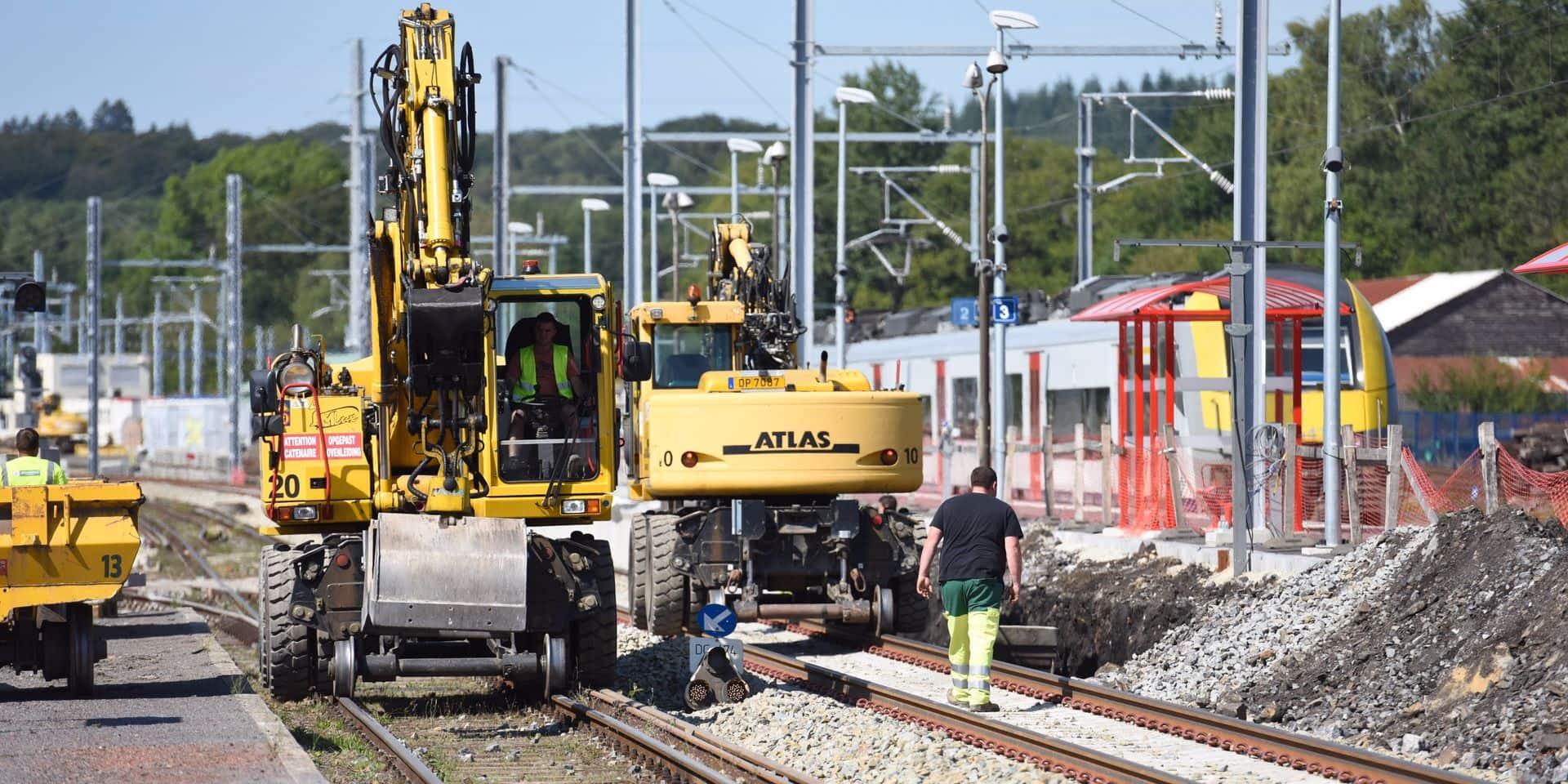 Mouscron : une réunion citoyenne en prévision des futurs travaux sur la ligne ferroviaire Mouscron-Tournai