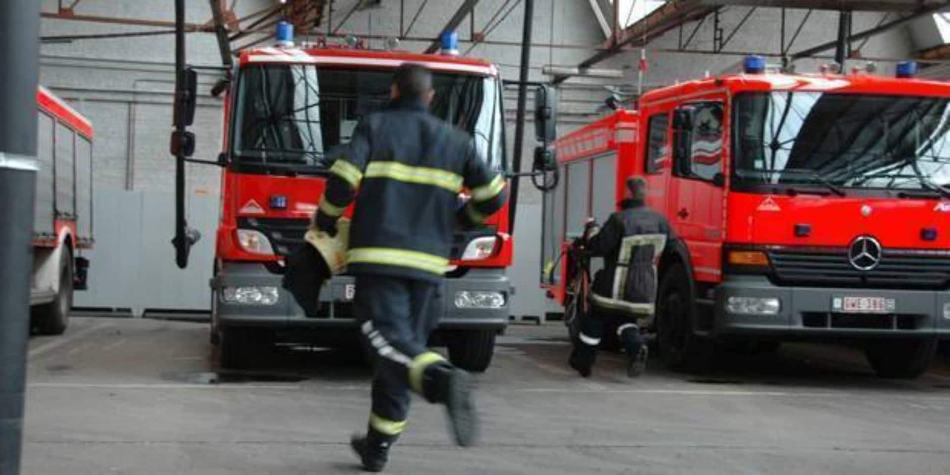 Blegny : Une personne dans un état préoccupant après un incendie