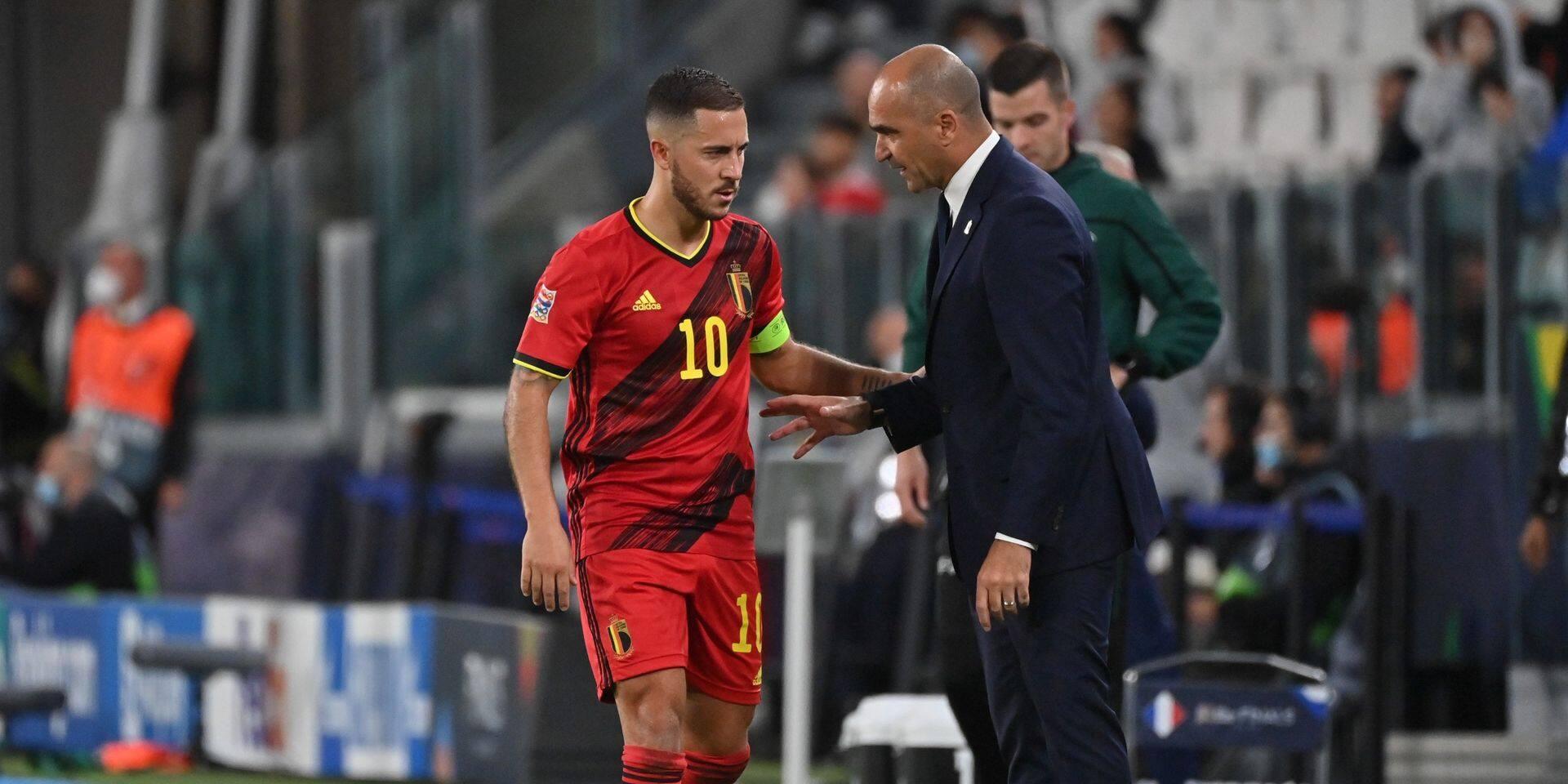 Eden Hazard et Thomas Foket renoncent au match pour la 3e place de la Ligue des Nations