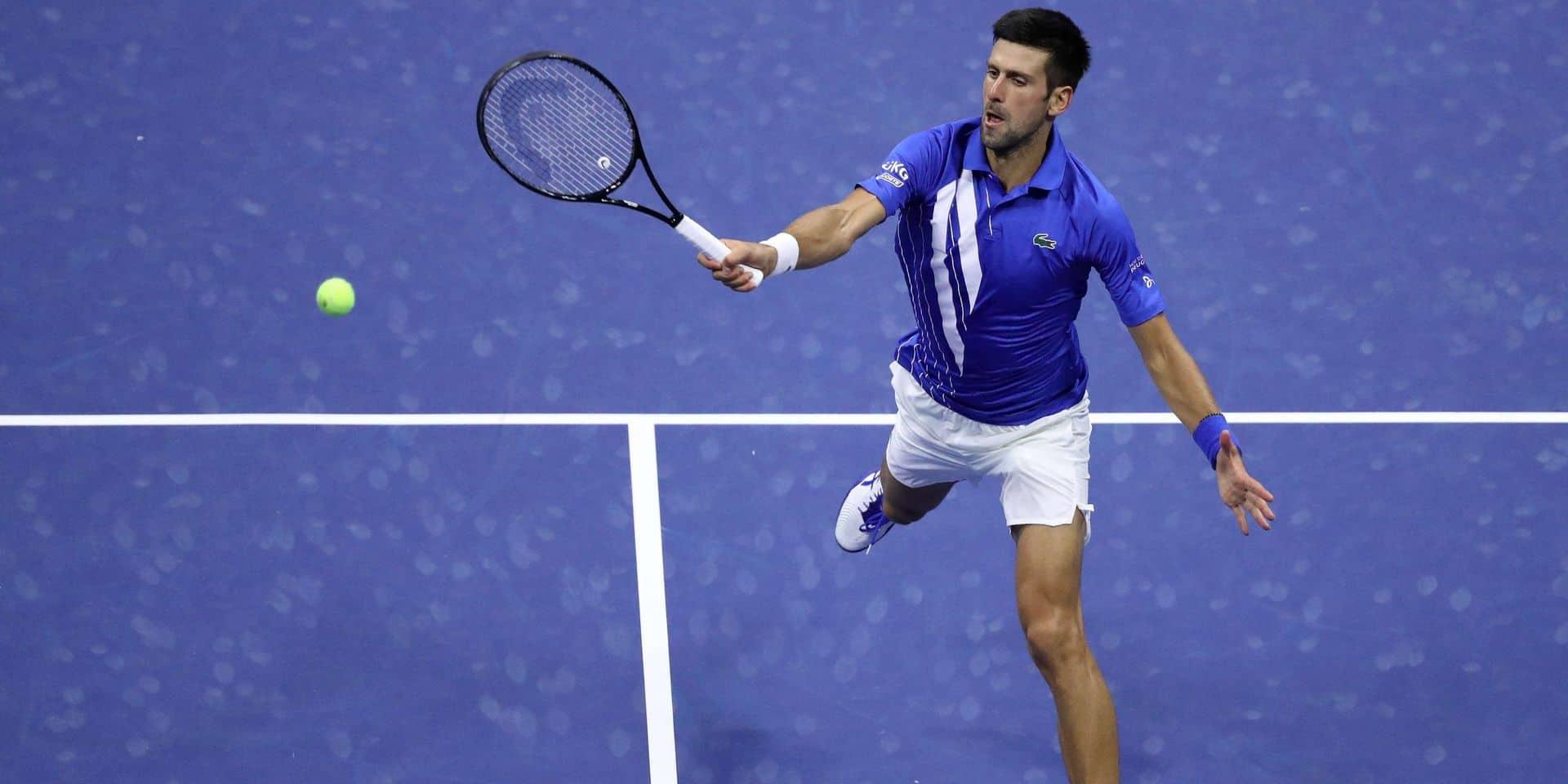 Tennis: Djokovic affirme que les femmes feront partie de son association