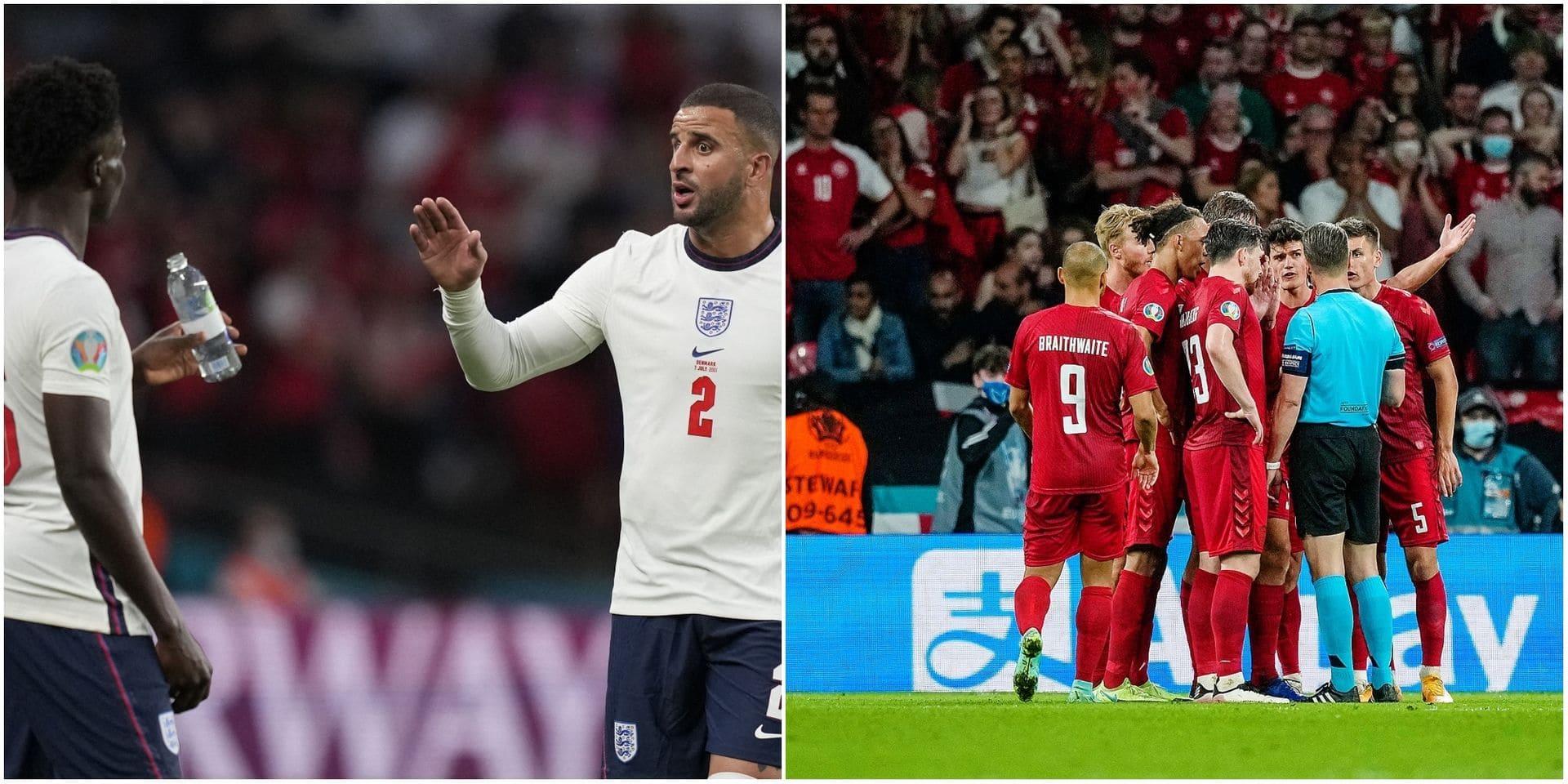 Maehle fautif, Walker le mur et Sterling le poison: les notes des joueurs après la qualification des Three Lions en finale