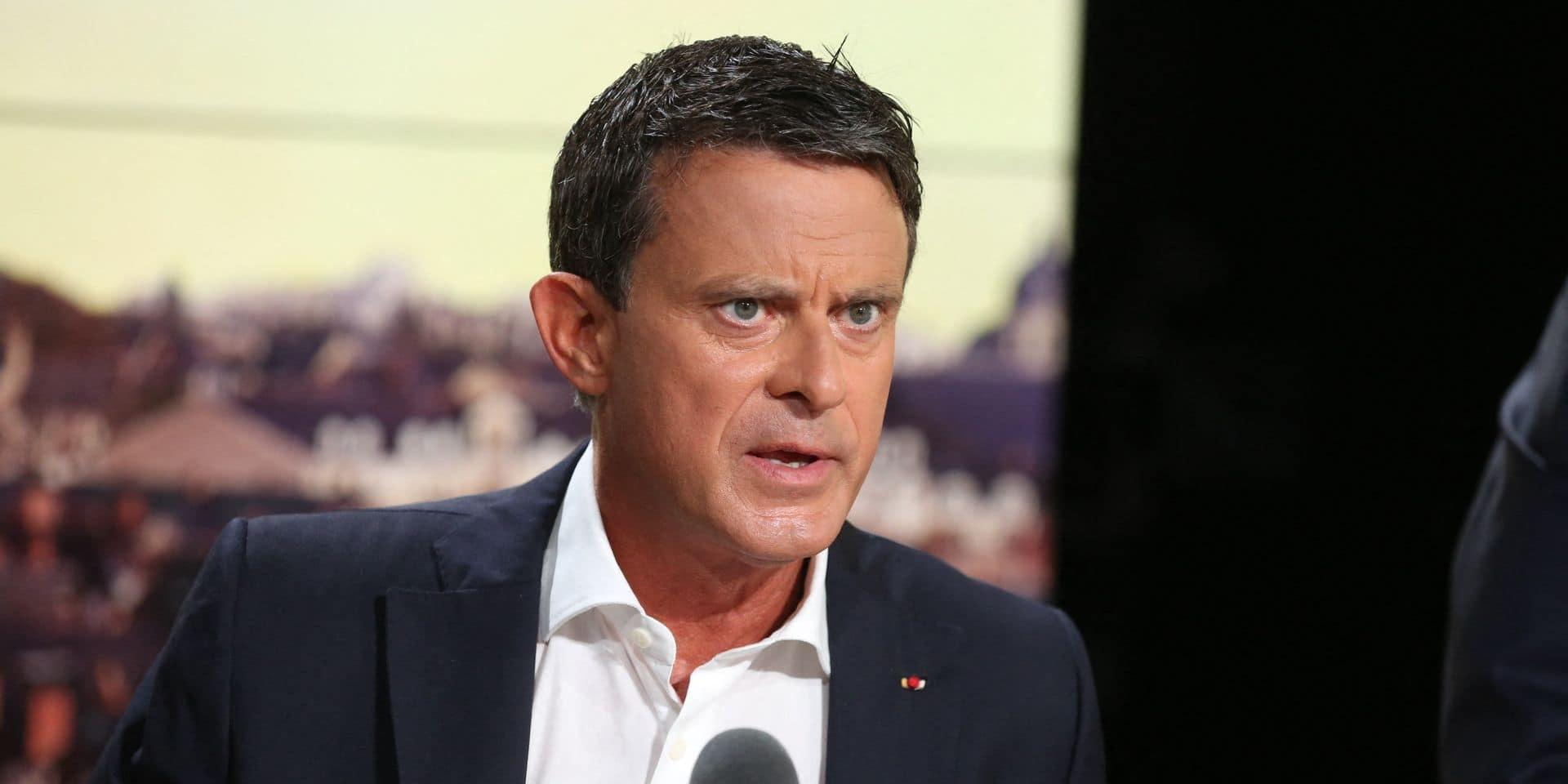 """Manuel Valls visé par de lourdes accusations sur la gestion des attentats de Paris: """"Des affirmations d'une violence inouïe"""""""