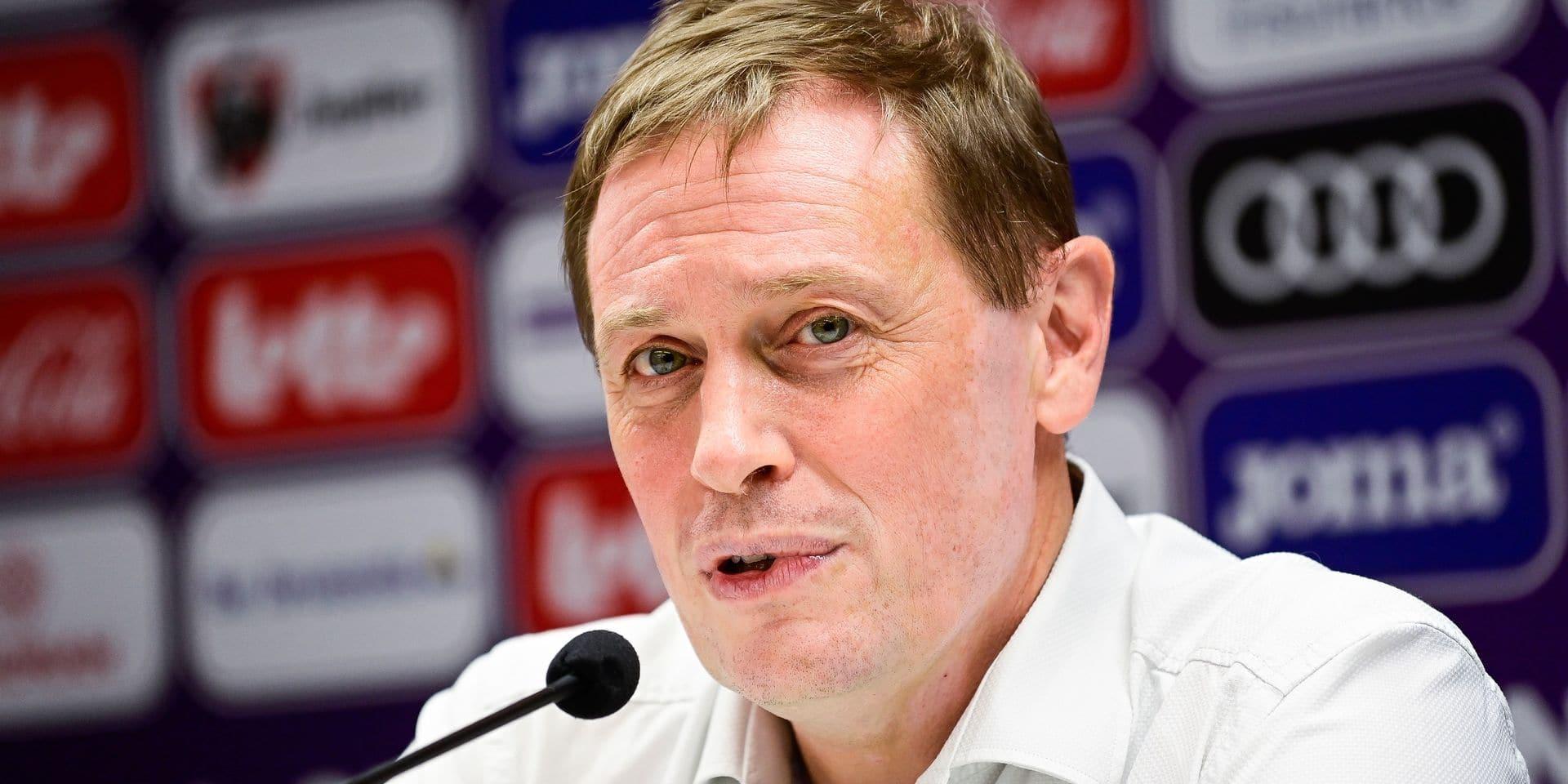 """Karel Van Eetvelt fait le point sur les dossiers chauds à Anderlecht : """"Vanden Borre restera le plus longtemps possible ici"""""""
