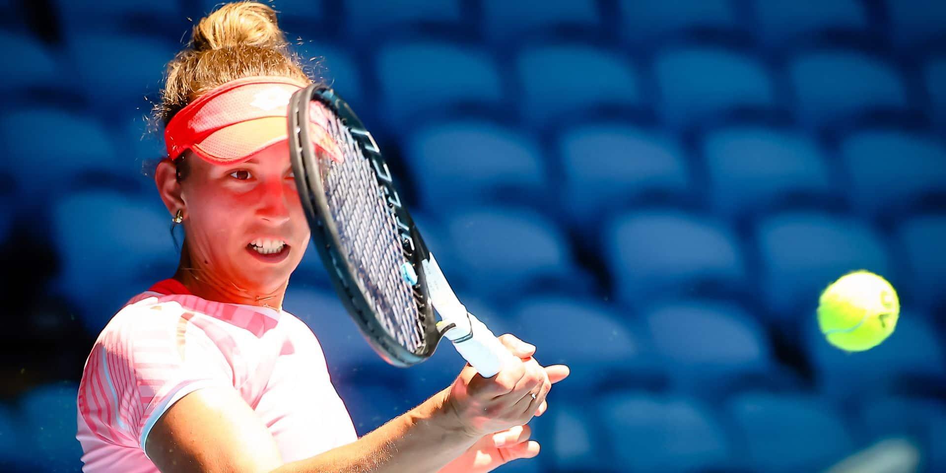 Elise Mertens dispose de Katerina Siniakova et se qualifie pour les demi-finales à Istanbul