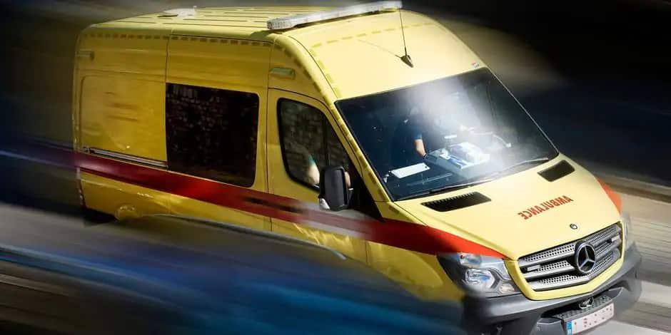 Lierneux : une motarde grièvement blessée sur la N822