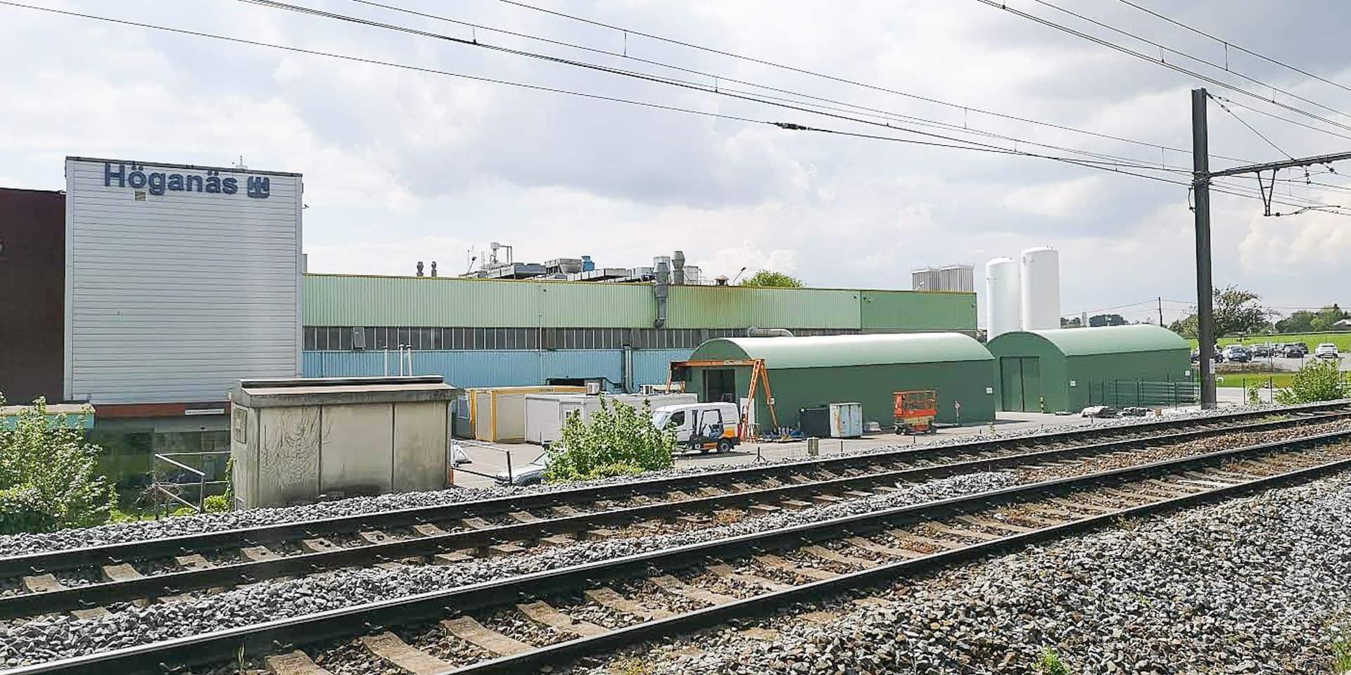 Ath: 20.000 panneaux photovoltaïques vont alimenter Höganäs
