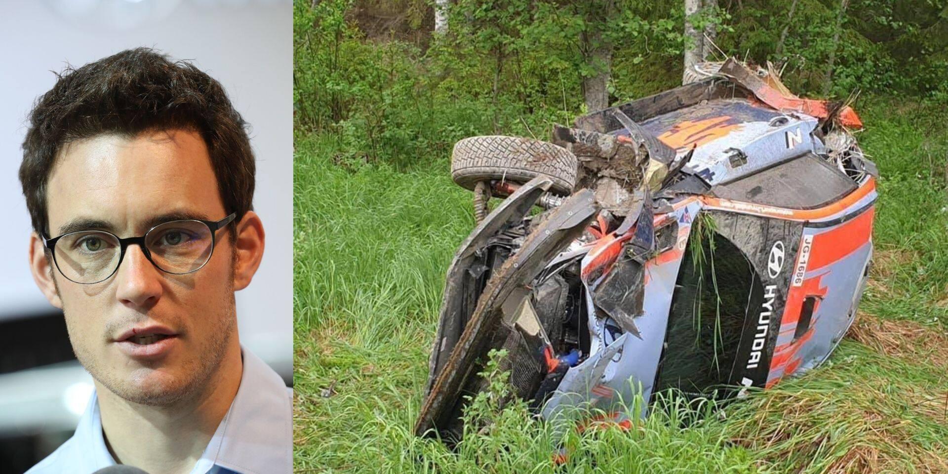 """WRC: Crash pour Neuville lors de la reprise des tests en Finlande: """"On est tous les deux OK"""""""