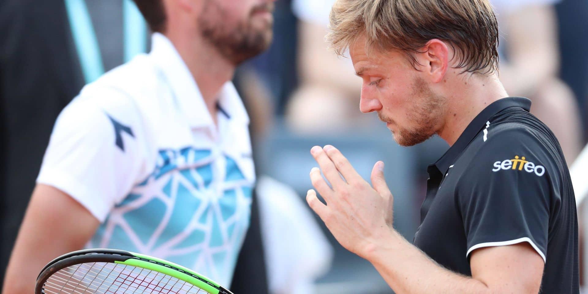 ATP Rotterdam: David Goffin élimine Robin Haase après avoir perdu le premier set