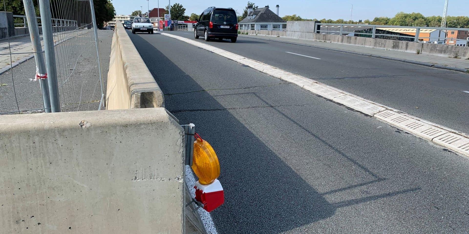 Travaux sur le pont Delwart à Tournai: respectez la signalisation mise en place pour votre sécurité