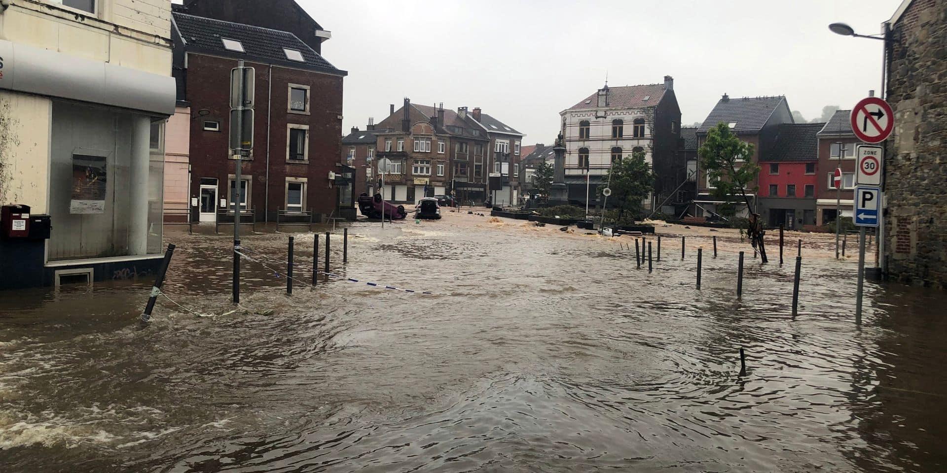 Inondations, routes fermées et bus à l'arrêt : la Flandre aussi durement touchée