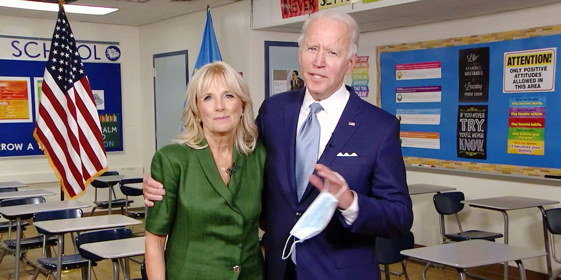 Jill Biden, une future Première dame moderne et rassembleuse