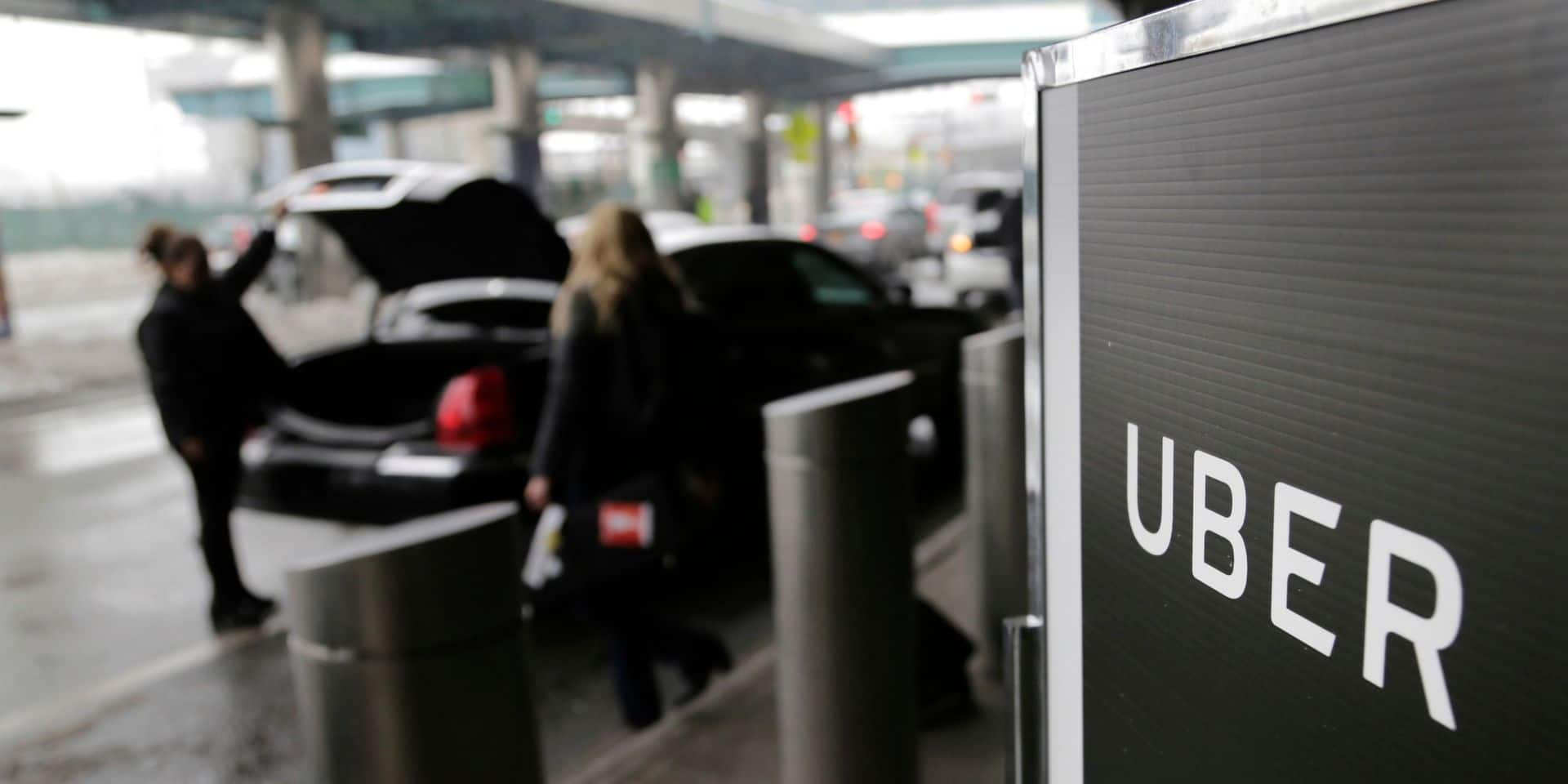 """Uber s'impatiente et réclame le """"plan taxi"""" de Vervoort : """"On ne voit rien venir"""""""