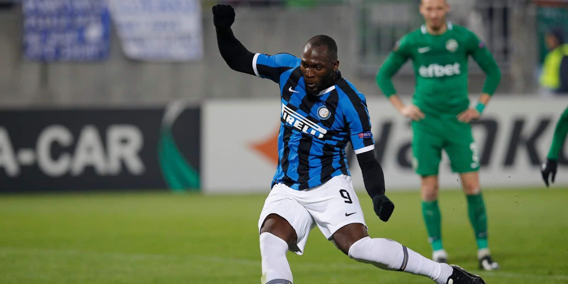 La montée au jeu de Romelu Lukaku, à l'assist puis buteur, délivre l'Inter en Bulgarie (VIDEO)