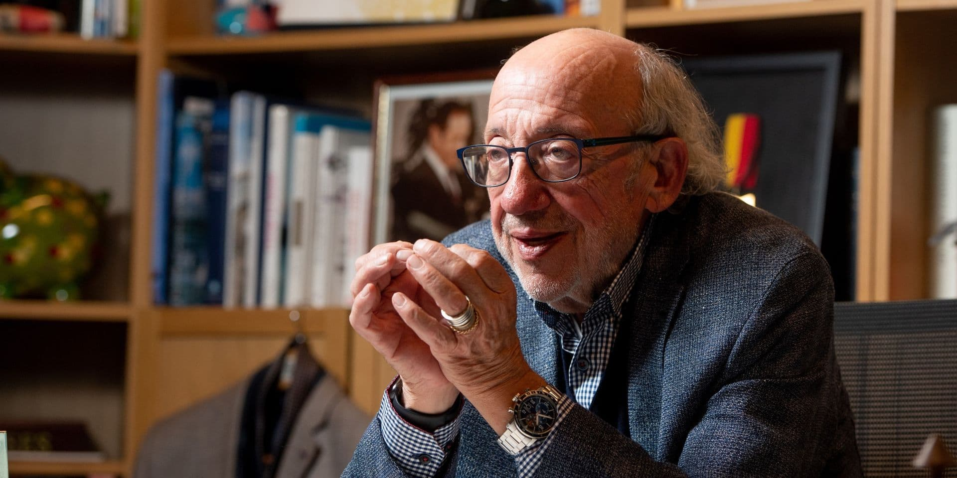 """Louis Michel va donner un coup de main au MR bruxellois : """"Il ne faut pas laisser le communautarisme étouffer tout"""""""