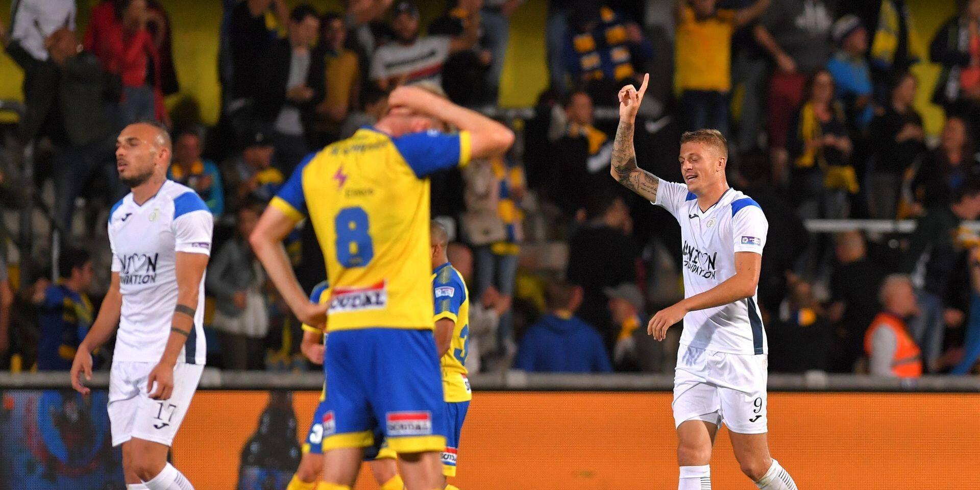 L'Union s'impose 1-2 à Westerlo et sauve la première place de Virton