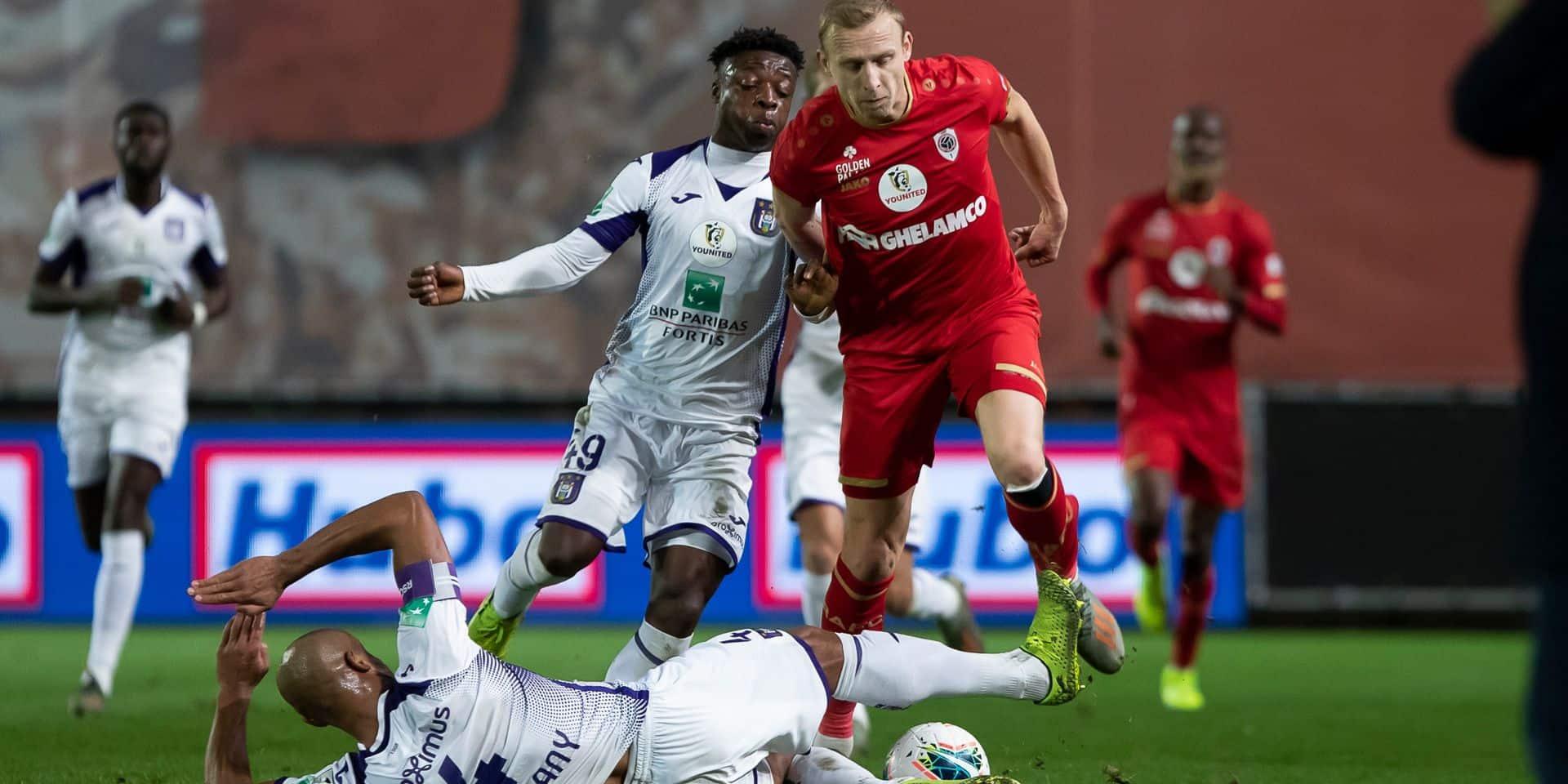 Découvrez toutes les réactions en vidéo après Antwerp-Anderlecht
