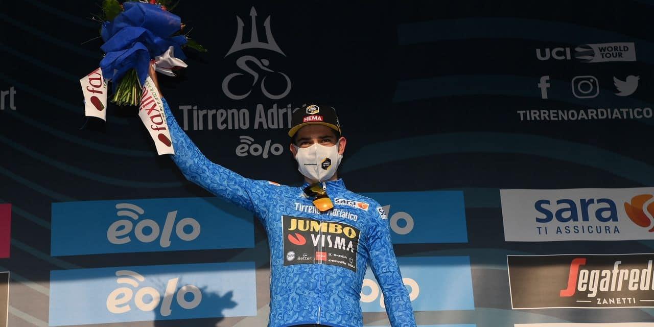 Wout Van Aert a frappé un grand coup à Tirreno-Adriatico: