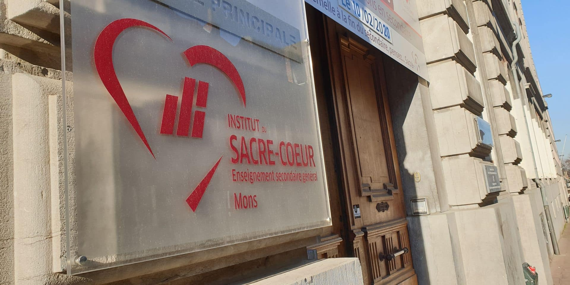 Huissier et policiers au Sacré-Coeur de Mons: la direction invoque des mesures de prévention et de sécurisation