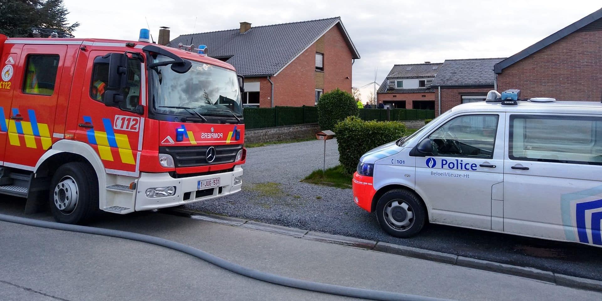 Chapelle-à-Wattines: un début d'incendie vite maîtrisé