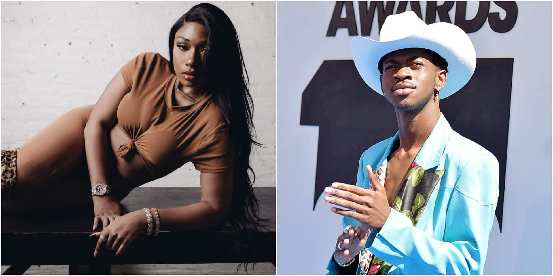 Lil Nas X et Megan Thee Stallion, de généreux rappeurs