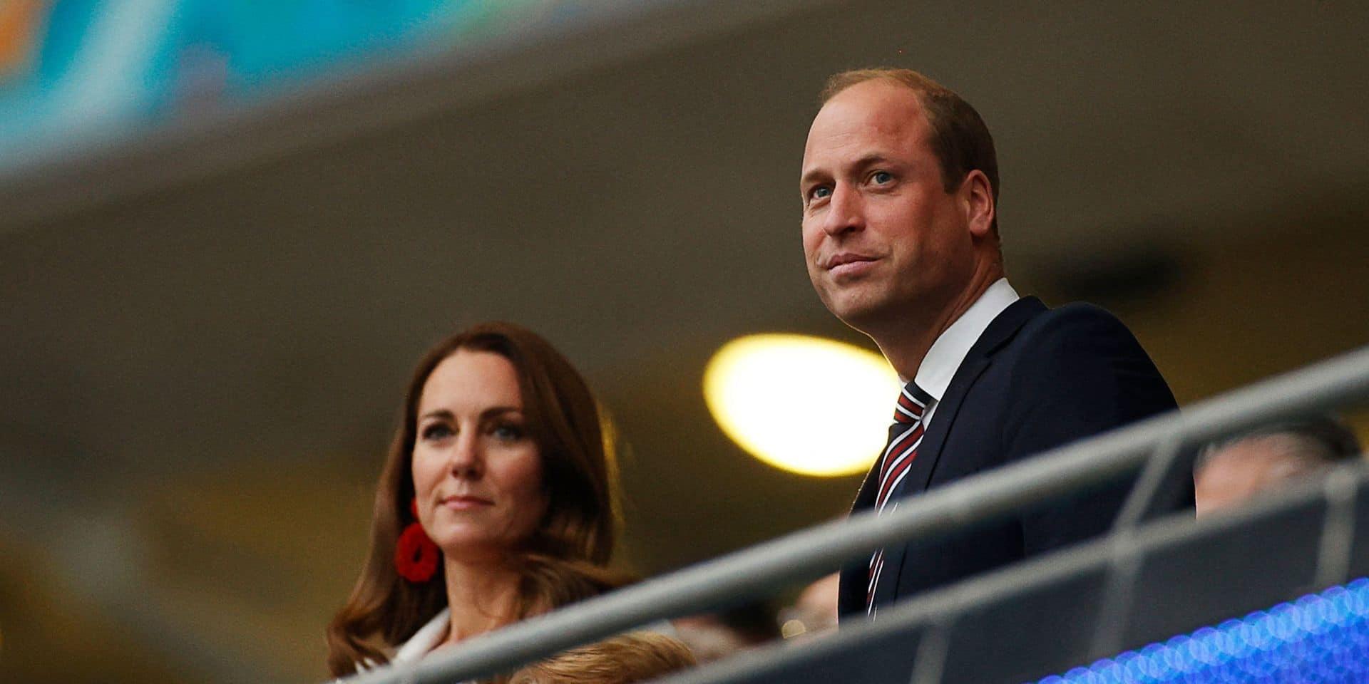 Le prince William et son épouse Kate avait fait le déplacement à Wembley, ce dimanche soir.