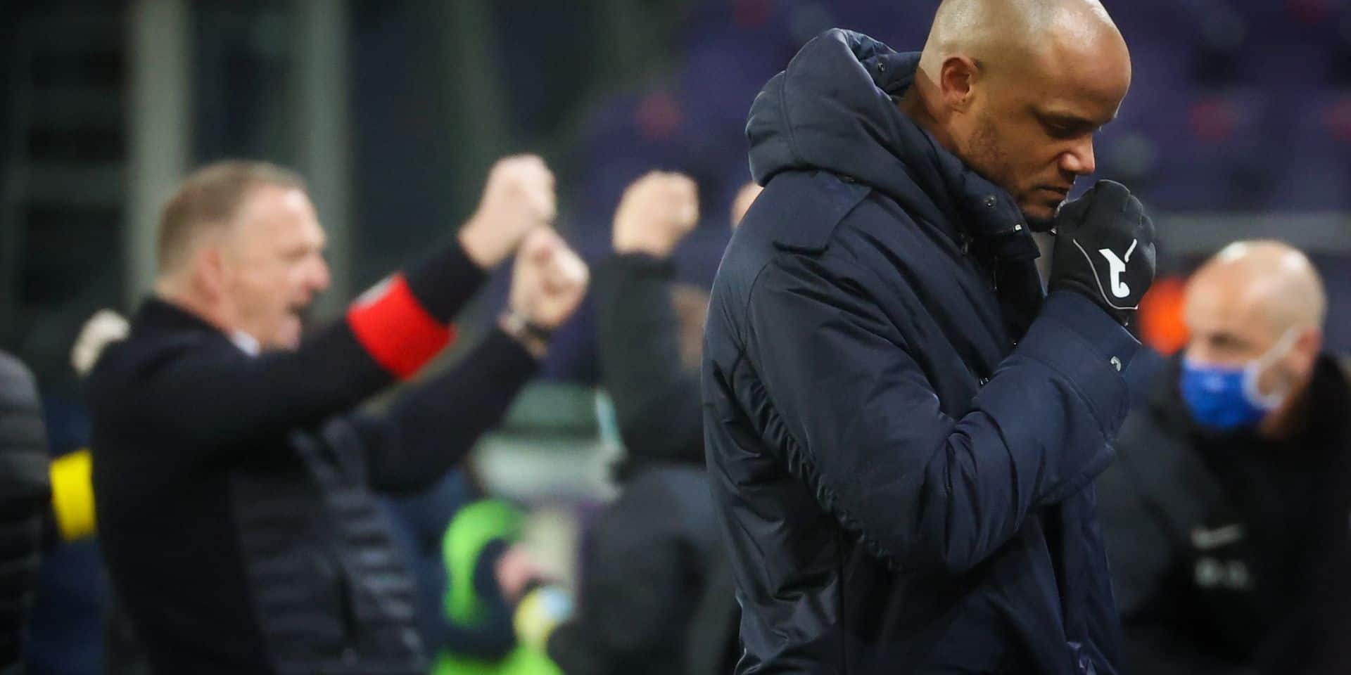 """Vincent Kompany: """"On a eu suffisamment d'occasions franches"""""""