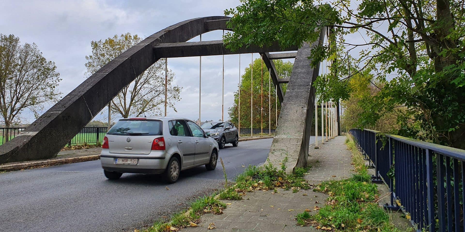 Ramegnies-Chin: 250 000 € de travaux au pont Bolus avant de pouvoir le céder au SPW