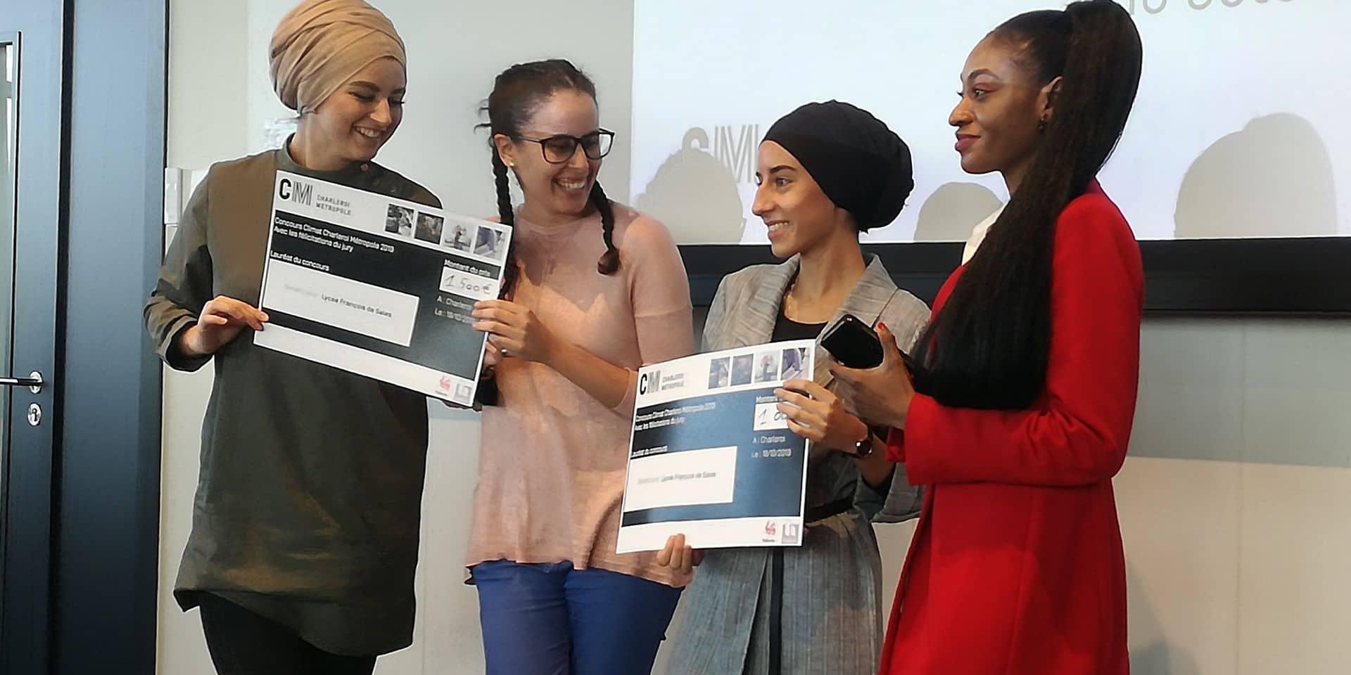 Les élèves des écoles de Charleroi Métropole reçoivent 12.000€ pour des projets en faveur du climat