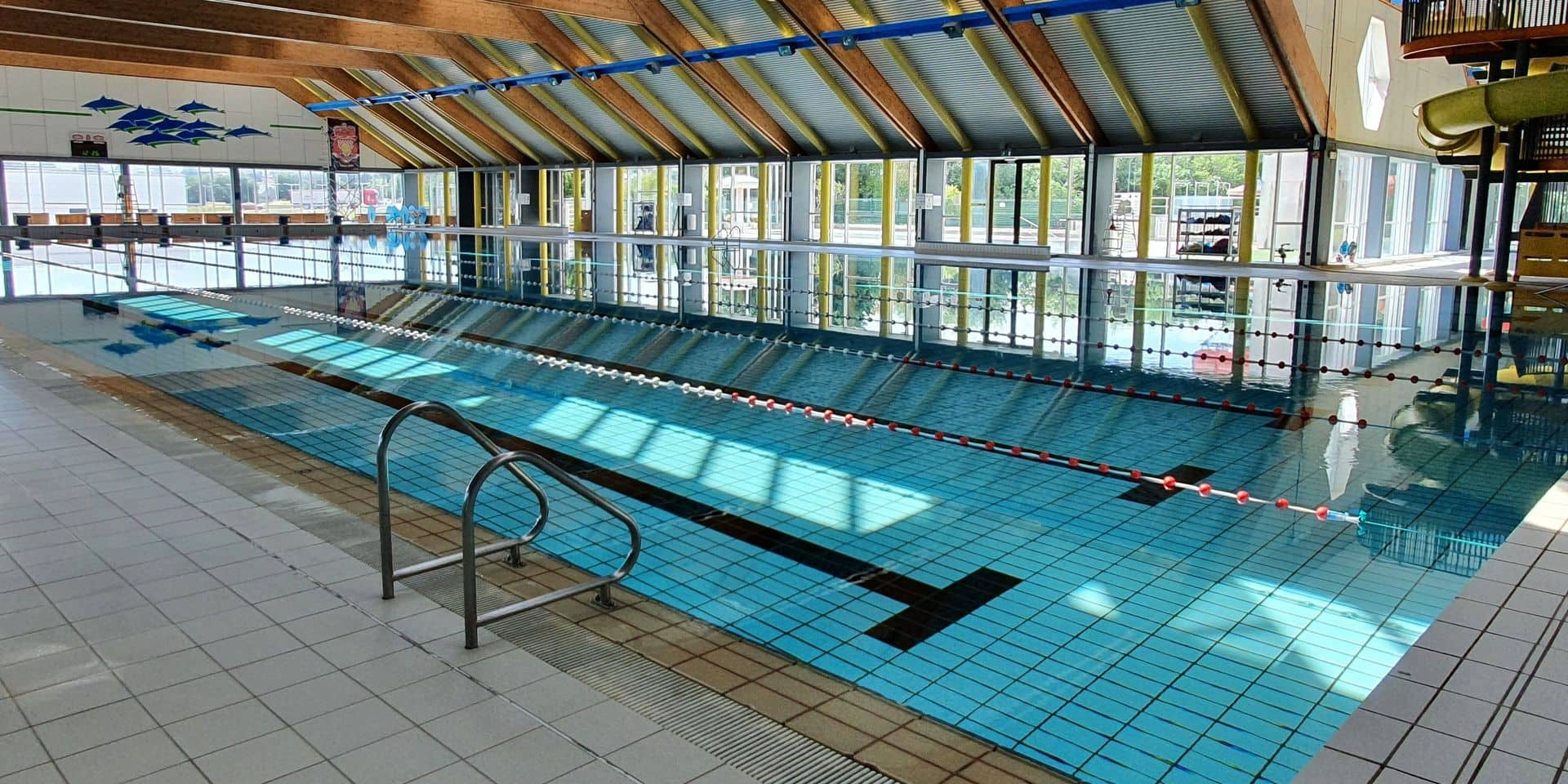 Mouscron: la piscine n'attend plus que ses nageurs