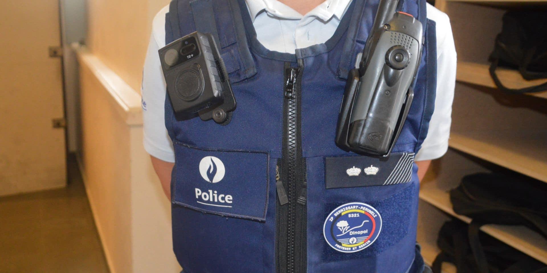 Bernissart : bodycams mais aussi drones et hélicoptères pour la police !