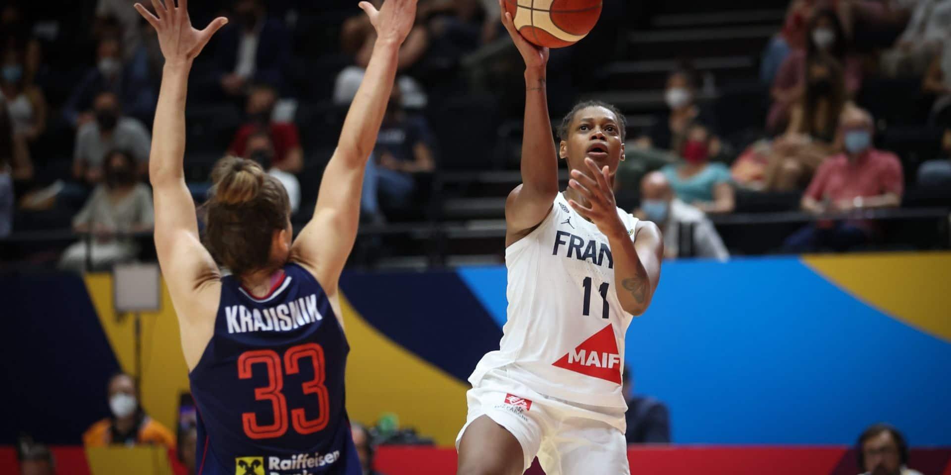 Euro de basket: la désillusion pour les Françaises, une nouvelle fois maudites en finale face à la Serbie